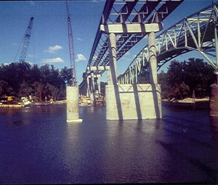 SR 20 Roadway Bridge Over the Apalachicola River Examples