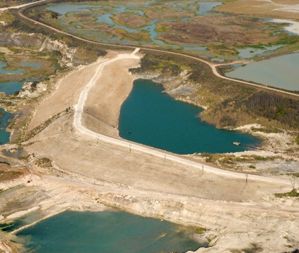 Limestone Tailings Disposal Facility Examples