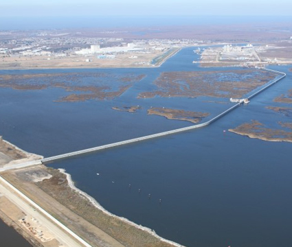 IHNC – Lake Borgne Barrier GIWW to MRGO,  St. Bernard Parish, Louisiana, USACE-New Orleans District Examples