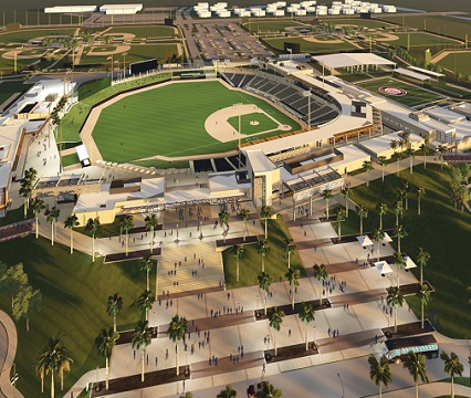 Ballpark of the Palm Beaches, Spring Training Facility for the Washington Nationals and Houston Astros