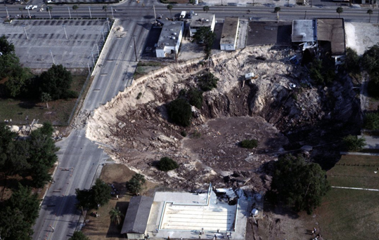 Understanding and investigation of sinkhole to make sure your construction project doesn't lose its legs